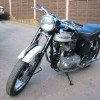 1959 Triumph Tiger 110 Motorcycle. Complete nut & bolt restoration,